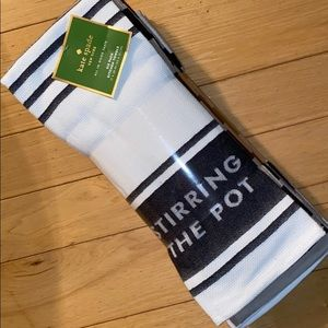 "Kate ♠️ Spade ""Stirring the Pot""Kitchen Towels!!"